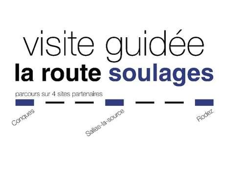 """VISITE GUIDÉE """"LA ROUTE SOULAGES"""" AU MUSÉE SOULAGES"""