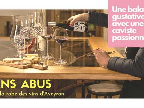 Sans abus - dans la robe des vins d'Aveyron