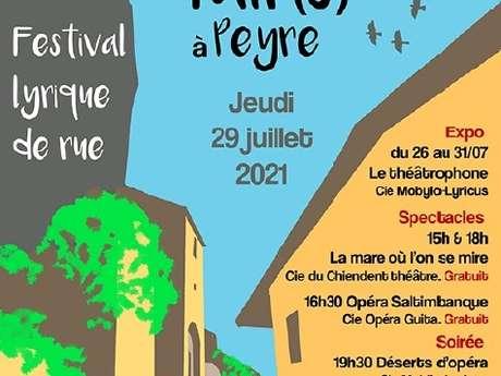 Festival lyrique de rue (spectacles de rue et cabaret...)