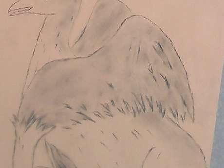 """atelier """"dessin par grattage"""""""
