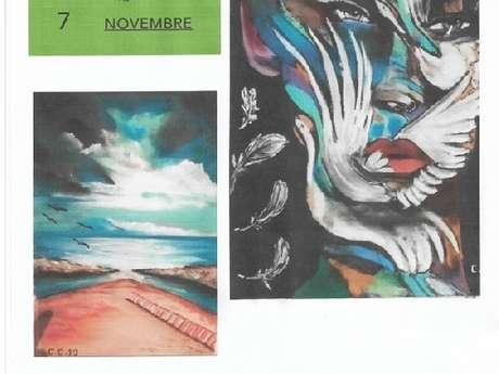 "Exposition de Céline Canitrot "" Mon Idylle "" - Salle Costantini"