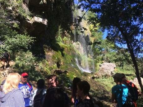 Randonnée familiale aux cascades de Creissels