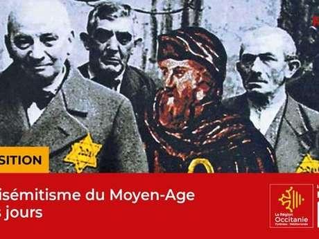 """Exposition """"L'antisémitisme du Moyen-Age à nos jours"""" - Maison de la Région à Rodez"""