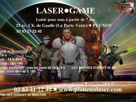 PLANETES LASER