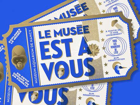LE MUSEE EST A VOUS - AUTOUR DES MEDUSES