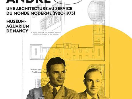 EXPOSITION L'AGENCE DES FRÈRES ANDRÉ - UNE ARCHITECTURE AU SERVICE DU MONDE MODERNE -1920-1973