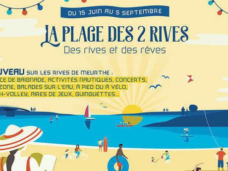 LA PLAGE DES 2 RIVES