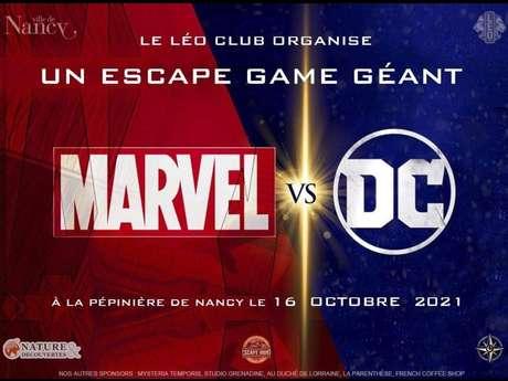 ESCAPE GAME GÉANT : MARVEL VS DC