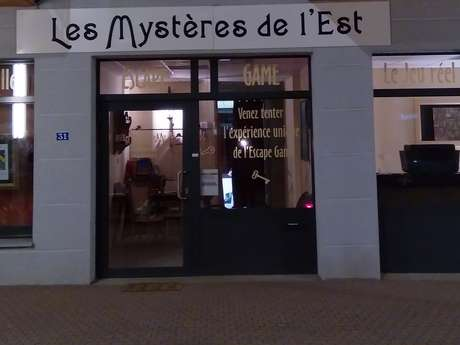 LES MYSTERES DE L'EST - ESCAPE GAME