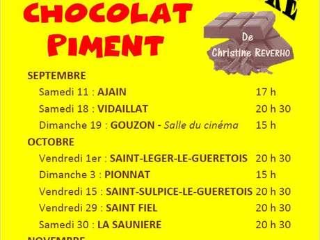 Compagnie d'un soir : Chocolat piment