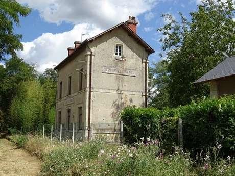 Découverte du bourg de Scorbé-Clairvaux