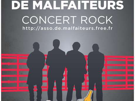 """Concert du groupe """"Association de Malfaiteurs"""" à la Brasserie artisanale de Méru"""