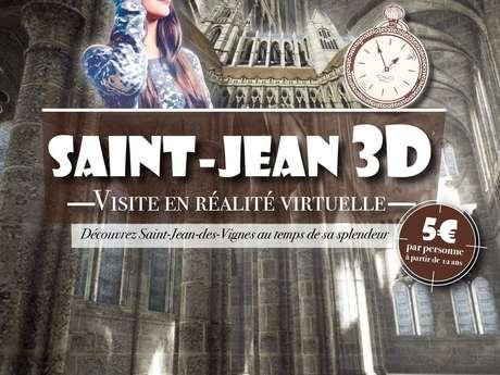 Réalité virtuelle à Saint Jean-des-Vignes