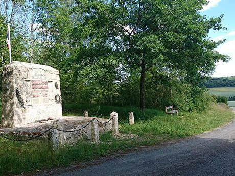 Monument des aviateurs à Ostel