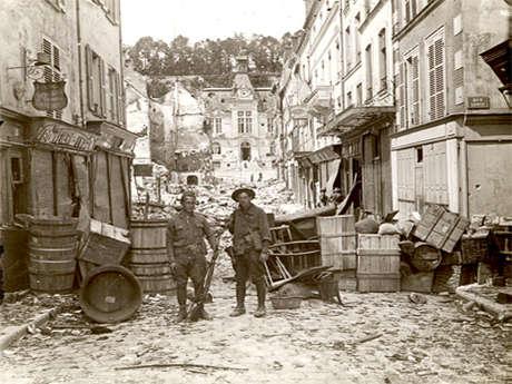 """Visite audio-guidée: """"Un Américain dans la Grande Guerre"""""""