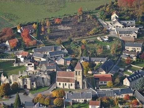 Rando d'automne autour du château de Berzy-le-Sec