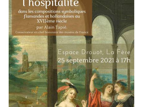 """Conférence : """"Le message de l'hospitalité"""" par Alain Tapié"""