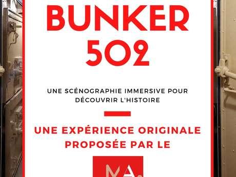 Visite du Bunker 502