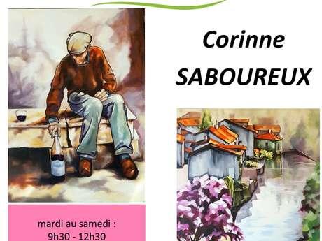 Exposition Corinne SABOUREUX