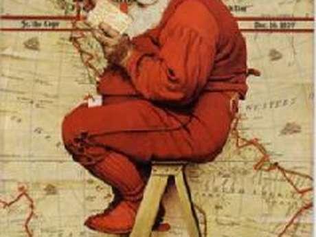 Atelier 7-11 ans autour de l'exposition La fabuleuse histoire du Père Noël