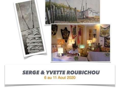 Exposition de Serge & Yvette Roubichou