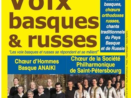 Voix du Pays Basque et de Russie