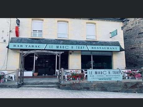 Restaurant-bar Le Marc'h Tray