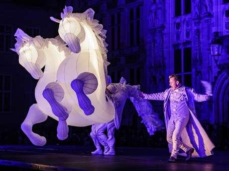 Brocéliande Fantastic : Spectacle Fiers à Cheval