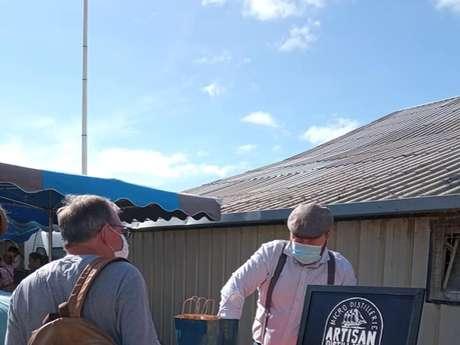Marché de producteurs à la ferme Coat-Savé