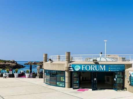 Forum de Trégastel - Piscine d'eau de mer