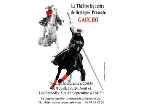 """Spectacle équestre """"GAUCHO"""""""