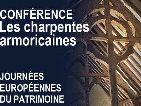 Journées Européenne du patrimoine - Le Pass'Temps. Conférence sur les charpentes armoricaines