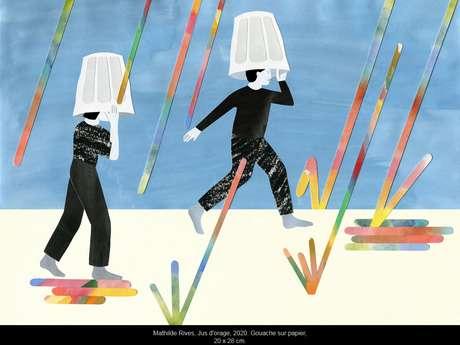 """Exposition - Mathilde Rives """"l'horizon de la ligne"""""""