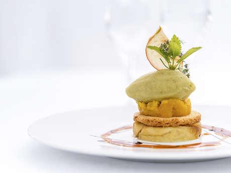"""Restaurant gastronomique Bio & Locavore """"Les Jardins Sauvages"""""""