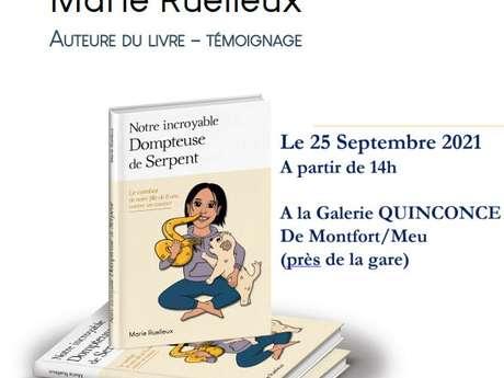 Rencontre-dédicace avec l'autrice Marie Ruelleux
