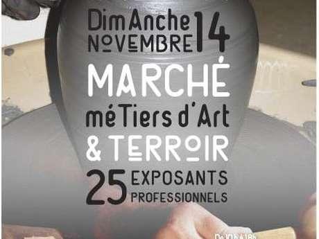 """Marché """"Métiers d'Art et Terroir"""""""