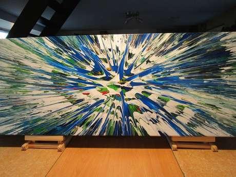 Exposition de peintures à la maison éclusière n°38 Le Rouvray