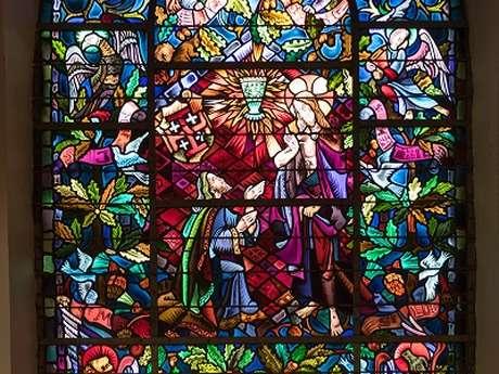 """Eglise de Tréhorenteuc dite """"du Graal"""""""