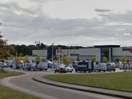 Douarnenez- Parking d'Intermarché