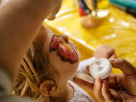 Atelier maquillage d'halloween