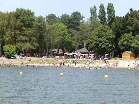 Baignade au Lac de Trémelin
