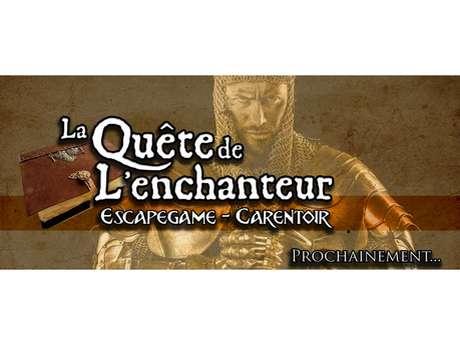 """Escape Game """"La Quête de l'Enchanteur"""""""
