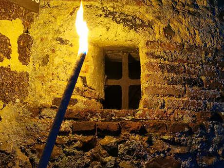 Visite aux flambeaux à la Commanderie templière d'Arville
