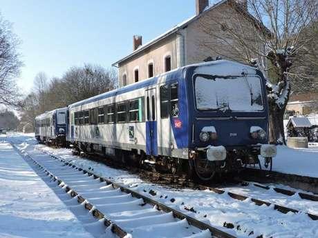 Train du Père Noël à Trôo