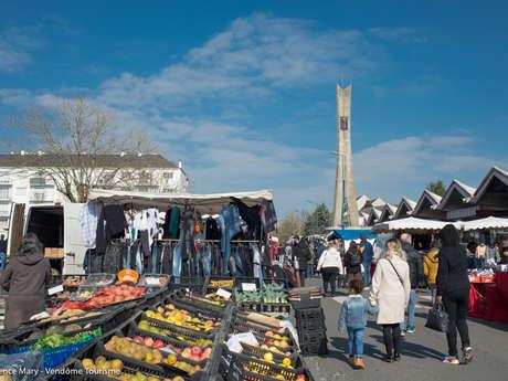 Marché des Rottes à Vendôme