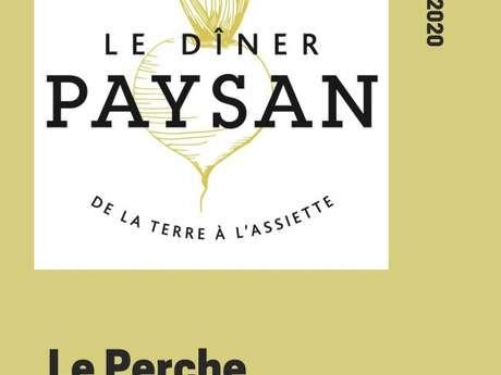 Le dîner paysan de la terre à l'assiette à Sargé-sur-Braye