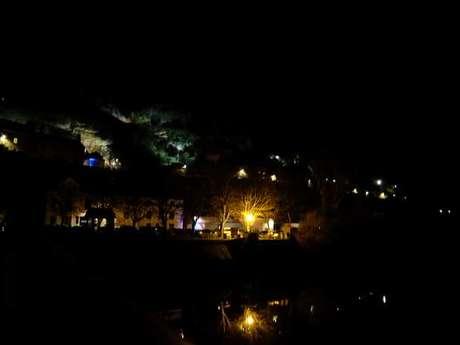 Nuit des lumières et Halloween à Trôo
