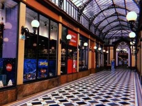 Paris, les Passages couverts