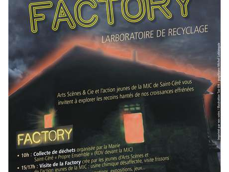 La Factory, Laboratoire de Recyclage