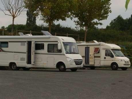 Aire pour camping-car de Martel